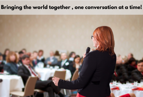 Bringing the world together, one conversation at a time.