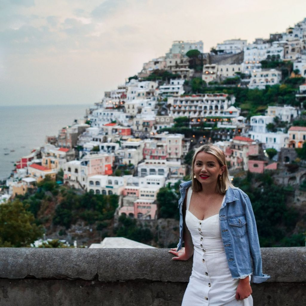 Picture of Nina Savic, RedHead's Communication's Social Media and Marketing Manager in the Amalfi Coast. RedHead Communications is a management consultancy specialising in cultural capability, diversity, and inclusion.